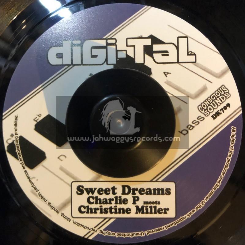 "Digi-Tal-7""-Sweet Dreams / Charlie P Meets Christine Miller"