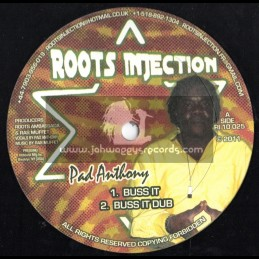 """Roots Injection-10""""-Buss It + Call My Name / Pad Anthony"""