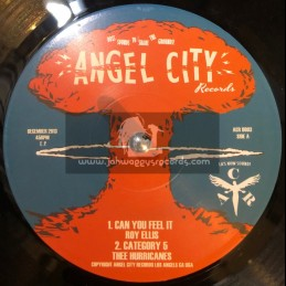 """Angel City Resords-7""""-Can you feel It + Get Up / Roy Ellis"""