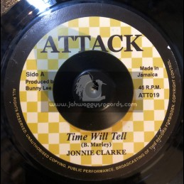 "Attack-7""-Time Will Tell / Johnnie Clarke"