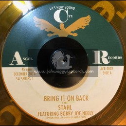 """Angel City Records-7""""-The Maiyan Empire + Bring It Back / Stahl Feat Bobby Joe Neely"""