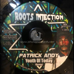 """Roots Injection-7""""-Youth Of Today / Patrick Andy"""