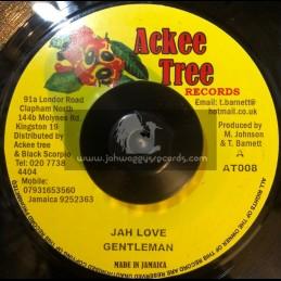 "Ackee Tree Records-7""-Jah Love / Gentleman"