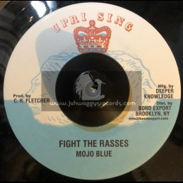 "Uprising-7""-Fight The Rasses / Mojo Blue"