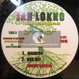 """Jah Lokko-12""""-Warrior / Mickey General + Seventy Two Nations / Mickey General - Roots Injection"""