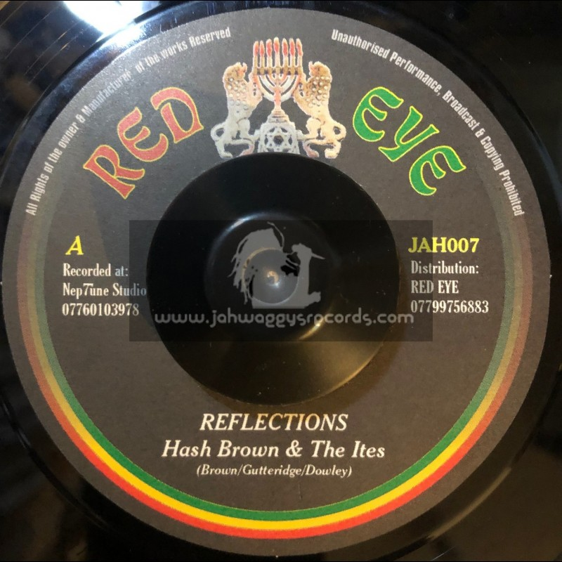 """Red Eye-7""""-Reflections / Hash Brown And The Ites - 2002 Original Press"""