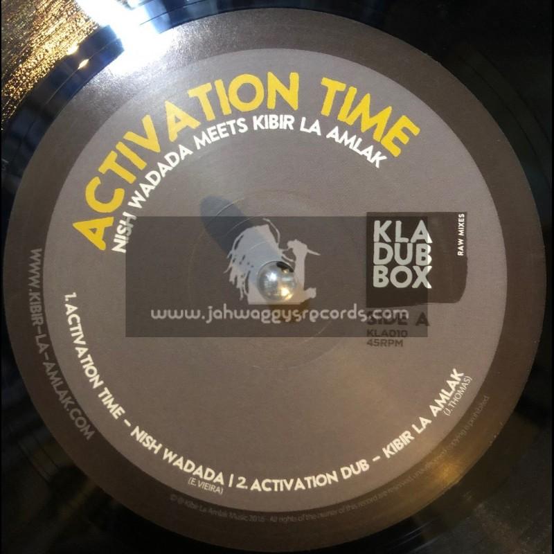 "KLA Dub Box-10""-Activation Time / Nish Wadada Meets Kibir La Amlak"