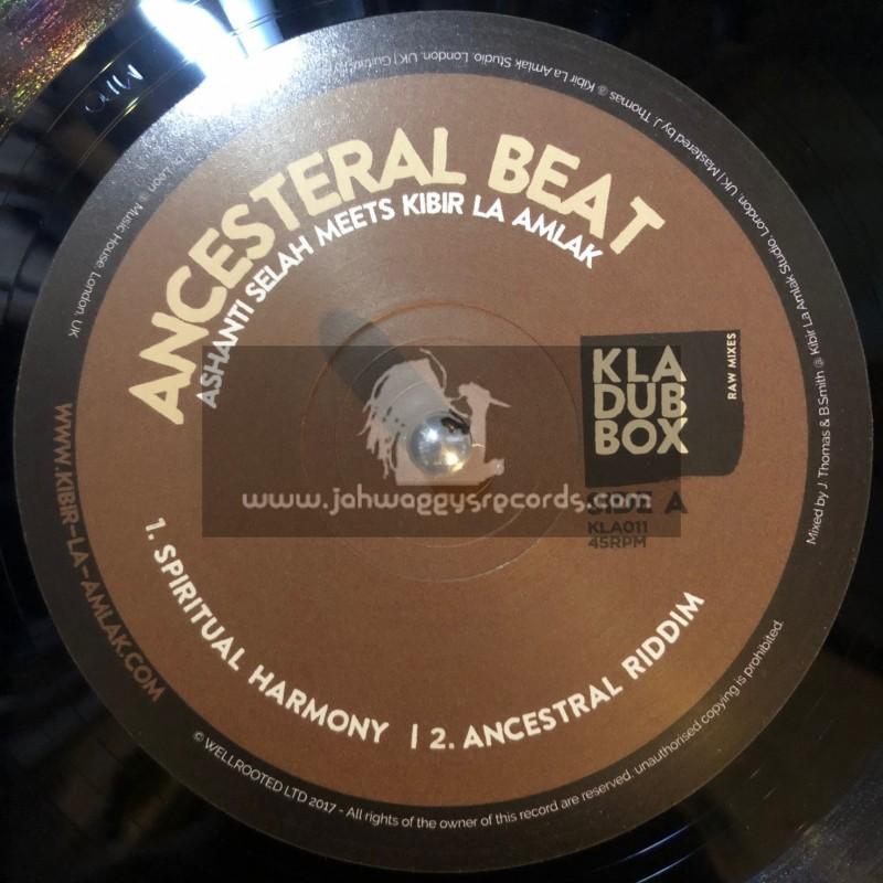 """KLA Dub Box-10""""-Ancesteral Beat / Ashanti Selah Meets Kibir La Amlak"""