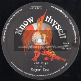 "Know Thyself-10""-Jah Fiya + Rise Of The Phoenix / Sugar Dee"