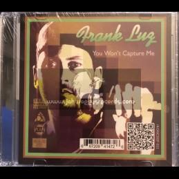 Iron Sound-CD-You Wont Capture Me / Frank Luz & Alien Dread