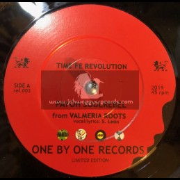 """One By One Records-7""""-Time Fe Revolution / Payoh SoulRebel - Valmeria Roots - Limited Edition"""