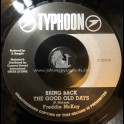 "Typhoon-7""-Bring Back The Good Old Days / Freddie McKay"