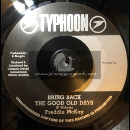 """Typhoon-7""""-Bring Back The Good Old Days / Freddie McKay"""