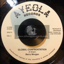 "Ayeola Records-7""-Global Confrontation / Barry Morgan +  Ripper / Barry Morgan"