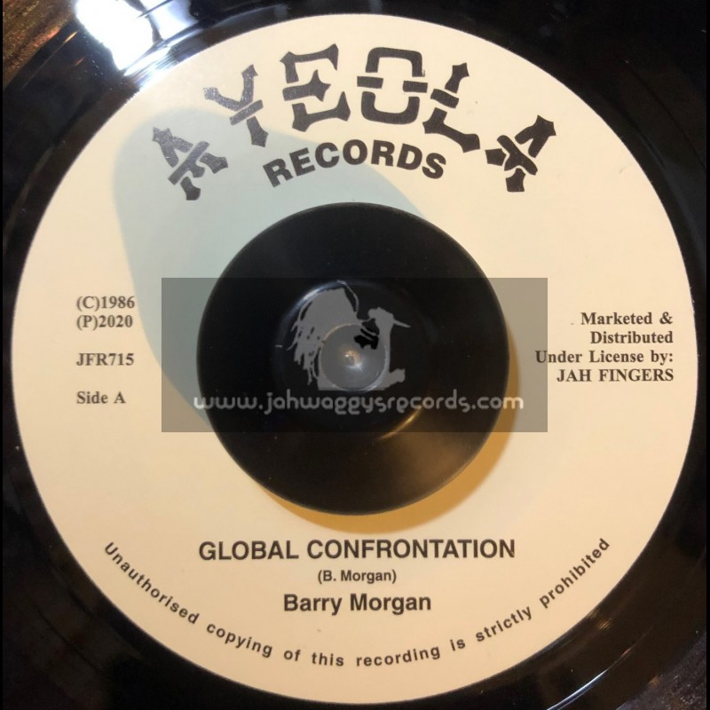 "Ayeola Records-7""-Global Confrontation / Barry Morgan +  Ripper / Barry Morgan"