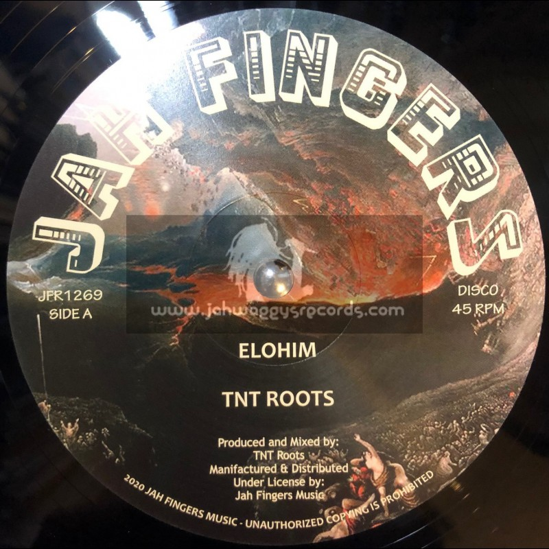 "Jah Fingers Music-12""-Elohim / TNT Roots"