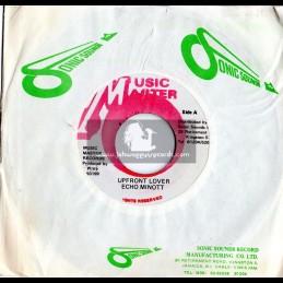 """Music Master-7""""-Upfront Lover / Echo Minott (Witty Original)"""