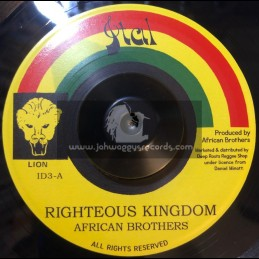"""Ital-7""""-Righteous Kingdom / African Brothers"""