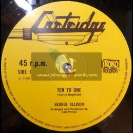 "Cartridge-12""-Hard Times / George Allison + Ten To One / George Allison"