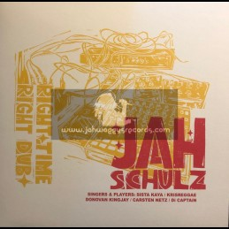 "Railroad Records-12""-Right Time Right Dub / Jah Schulz"