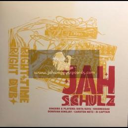 """Railroad Records-12""""-Right Time Right Dub / Jah Schulz"""