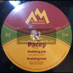 """Ancient Mountain Records-10""""-Praising Jah / Pacey + Ethiopia Is Calling For Peace / Pacey"""