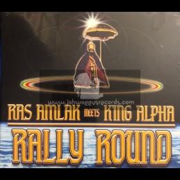 Akashic Records-CD-Rally Round / Ras Amlak Meets King Alpha