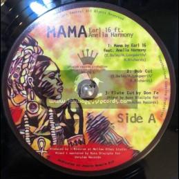 "Unrulee Records-12""-Mama / Earl 16 & Amelia Harmony + Love Root / Amelia Harmony"