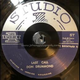 "Studio 1-7""-Last Call / Don Drummond"