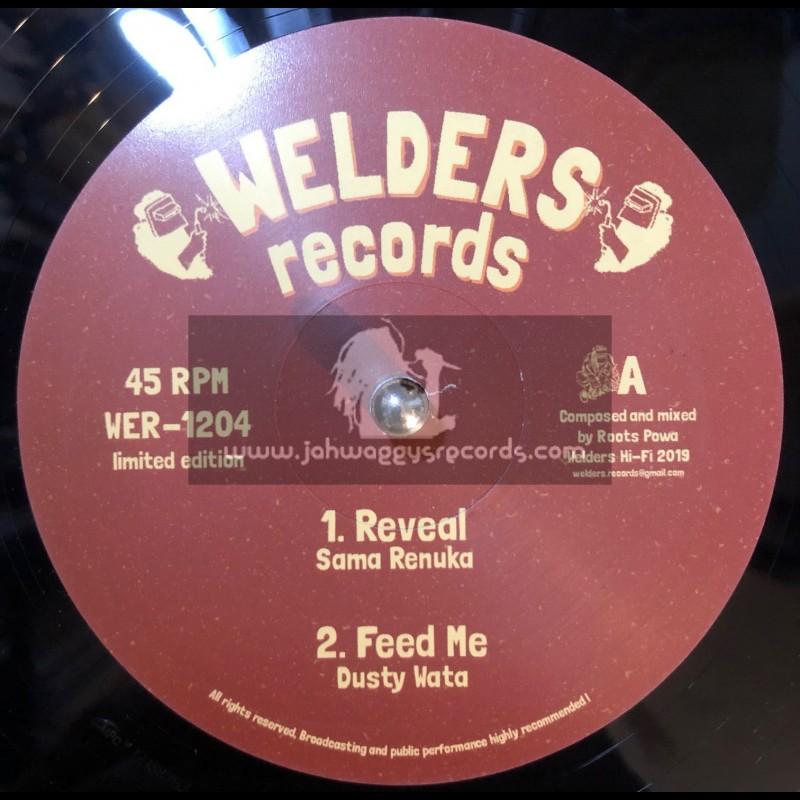 """Welders Records-12""""-Reveal / Sama Renuka + Feed Me / Dusty Water"""
