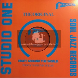 "Soul Jazz-Studio One-12""-Trouble Maker / Wailing Souls + Run My People / Wailing Souls"