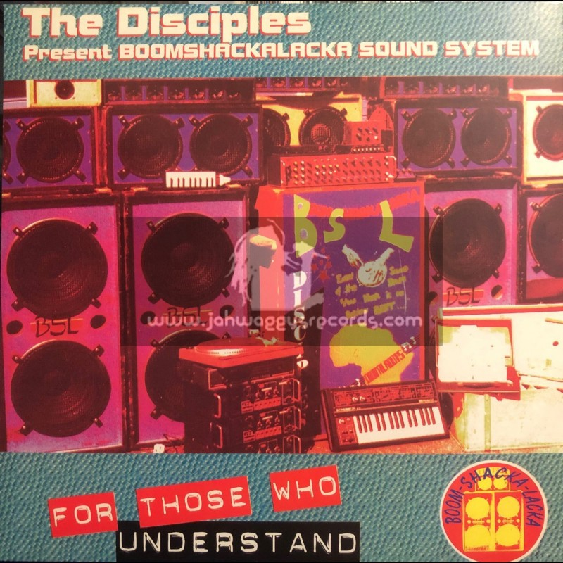 Partial Records-Lp-For Those Who Understand / The Disciples