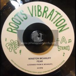 "Roots Vibration-7""-Fear / Winston McAnuff"