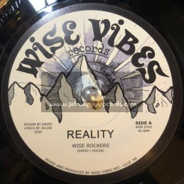"Wise Vibes Records-7""-Reality / Wise Rockers - 300 Limited Press"