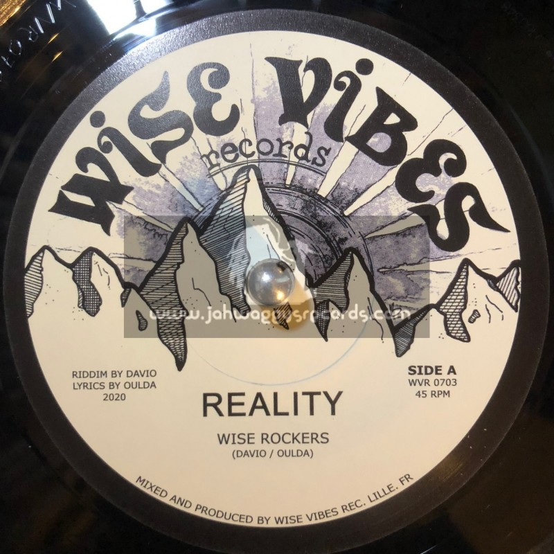 """Wise Vibes Records-7""""-Reality / Wise Rockers - 300 Limited Press"""
