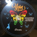 """Yara Records-12""""-Poly Vinyl Dubplate-Keep On Burning / Clever Lee - Limited 100 Copys"""