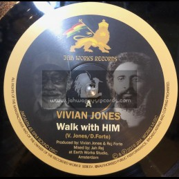 "Jah Works Records-10""-Walk With HIM / Vivian Jones + Dub Walk / Jah Rej"
