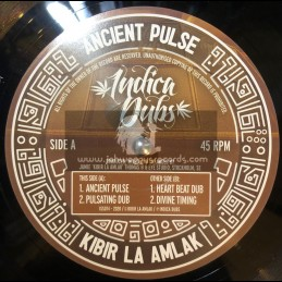 "Indica Dubs-10""-Ancient Pulse / Kibir La Amlak"