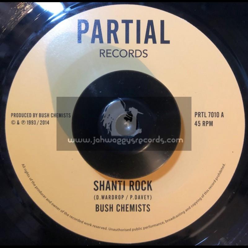 """Partial Records-7""""-Test Press-Shanti Rock / Bush Cemists"""