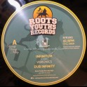 """Roots Youths Records-10""""-Infinitum / Vibronics + Testing Times Ahead / Daddy Teacha"""