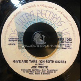 """Ultra Records-7""""-Give And Take - On Both Sides / Joe White"""