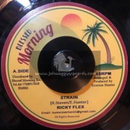 """Blessed Morning-7""""-Strain / Ricky Flex + Blender Special / Blessed Morning All Stars"""