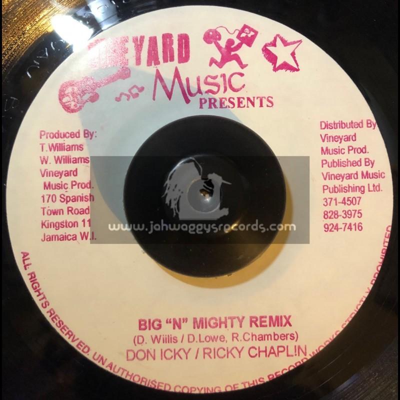 "Vineyard Music-7""-Big N Mighty Remix / Doniki & Ricky Chaplin"