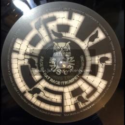 """Antipod Records-10""""-Rat Race / Maïs & Sin Feat. Junior Dread"""