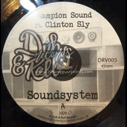 "Dub & Roll Records-7""-Soundsystem / Champion Sound Feat Clinton Sly"