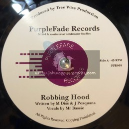 "PurpleFade Records-7""-Robbing Hood / Mr. Bassie "