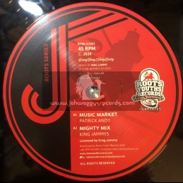 """Roots Youths/King Jammys-12""""-Music Market / Patrick Andy + Tuff Mix / Patrick Andy"""