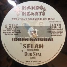 """HANDS & HEARTS-12""""-SELAH + REASON UP / IDREN NATURAL (UNITONE)"""