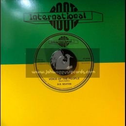 """Roots International-7""""-Voice Of The People / B.B. Seaton"""
