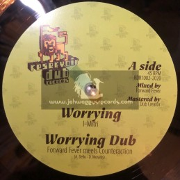 "Reservoir Dub Records-10""-Worrying / Forward Fever meets Counteraction + Lose Control / Metta Frequencies"